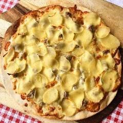 Pizza  Zucchine e alici