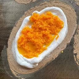 ขนมเบื้องไส้ฝอยทองไข่เค็ม(ชิ้นใหญ่)