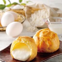 Hokkaido milk choux cream