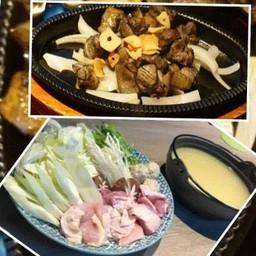 MizutakiM+Shamo sumibiyaki