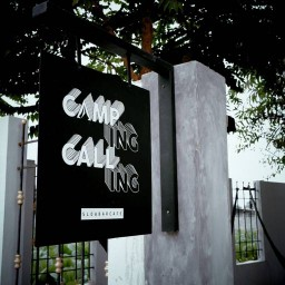 Camping Calling - Slow Bar Cafe'