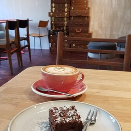Cappuccino & Brownie