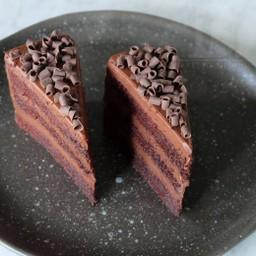 เค้กช็อคโกแลตฟัดจ์หน้านิ่ม