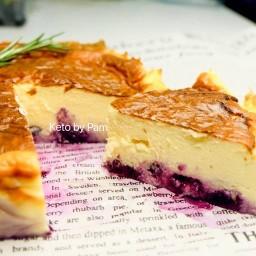 ขนมคีโต Basque Burnt Cheesecake Keto