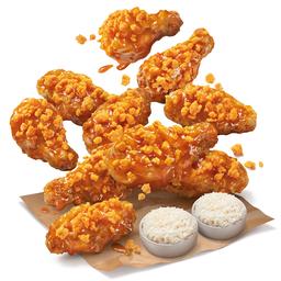 ไก่ไข่เค็มไชโย + ข้าวเหนียว