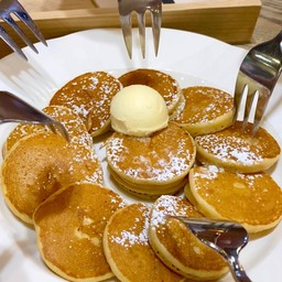 Silver Dollar Pancake (ซิลเว่อร์ ดอลล่าร์ แพนเค้ก)