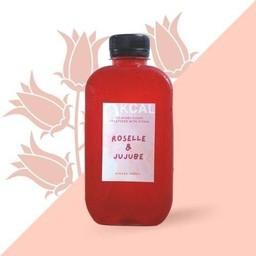 น้ำกระเจี๊ยบ พุทราจีน หญ้าหวาน Roselle & Jujube Stevia Drink