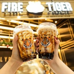 Fire Tiger by Seoulcial Club (เสือพ่นไฟ) Siam Square one