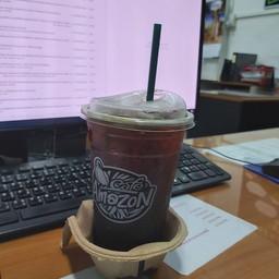คิดถึงกาแฟ คิดถึงอเมซอนค่ะ ต้องสาขาบ้าน ณ อุดมสุขด้วยนะคะ อร่อยถูกใจ บริการรวดเร