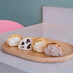 Cookie choux cream