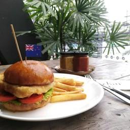 NZ Fish Burger