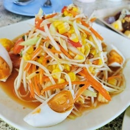 ตำไทยไข่เค็ม
