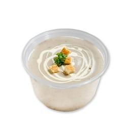 ซุปเห็ดกับน้ำมันเห็ดทรัฟเฟิล