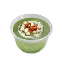 ซุปผักโขมน้ำมันเห็ดทรัฟเฟิล