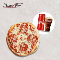 [อร่อยซ่ากับโค้ก] Combo Berlin Salami (Buddy size) + Coca Cola