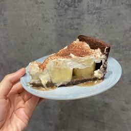 บานอฟฟี่พาย Banoffee Pie with Soy Whipped Cream