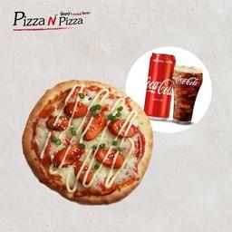 [อร่อยซ่ากับโค้ก] Combo Seoul Spicy Sausage (Buddy size) + Coca Cola