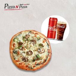 [อร่อยซ่ากับโค้ก] Combo Hanoi Vegetarian (Buddy size) + Coca Cola