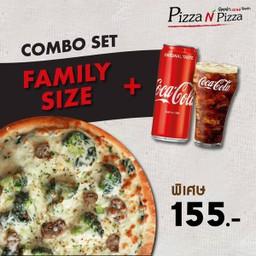 [อร่อยซ่ากับโค้ก] Combo Hanoi Vegetarian (Family size) + Coca Cola