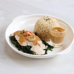 ข้าวพระรามลงสรง ไก่ low uric