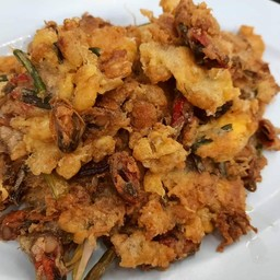 หอยแมลงภู่ทอดกรอบ ( M )