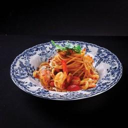 P05 Spaghetti Seafood