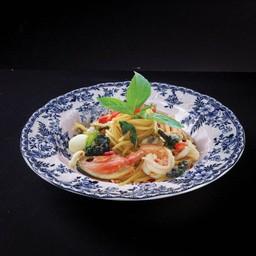 P06 Spaghetti Seafood Kimao