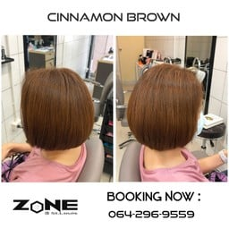 👇 สีผมโทน 🚩 'CINNAMON Brown ' Hair Colour🎋 💳 ยินดีรับบัตรเครดิต