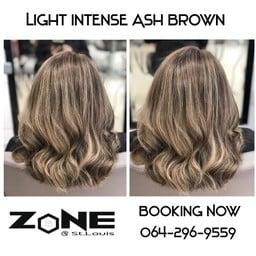 วันนี้แอดมินนำเสนอผลงาน 👇 สีผมโทน 🚩 'Light Intense Ash Brown '  โดยใช้สี Organ