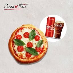 [อร่อยซ่ากับโค้ก] Combo Rome Margarita (Buddy size) + Coca Cola