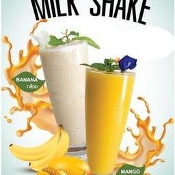 มะม่วงปั่น  Mango Milk Shake