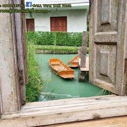 บ้านพุฒมณฑา น้ำ นา ป่า ดิน