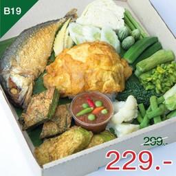 น้ำพริกกะปิปลาทู+ไข่เจียวห่อข้าว