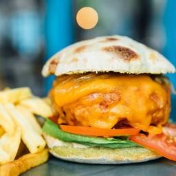 Double Pork Burger & cheese