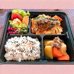 SABA SHIOYAKI Set meal ชุดปลาซาบะย่าง เกลือ