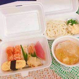 SUSHI Set meal B (Udon) ชุดซูชิ B(อุด้ง)
