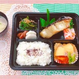 SAWARA MISOZUKE Set meal ชุดปลาอินทรีย์ย่าง มิโซะ