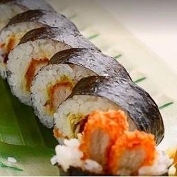 Tonkatsu Maki ข้าวห่อสาหร่ายไส้หมูชุปแป้งทอด
