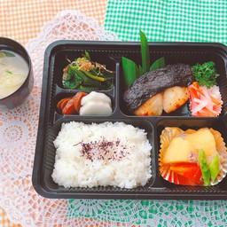 GINDARA MISOZUKE Set meal ชุดปลาหิมะย่าง มิโซะ