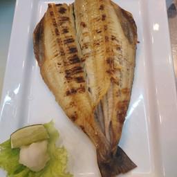 Shimahokke yaki set (เซ็ทปลาฮอกเกะย่าง)