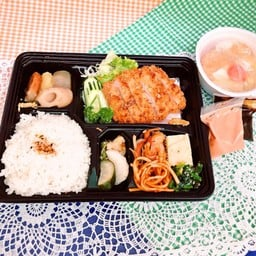 TONKATSU Set meal ชุดหมูชุบเกล็ดขนมปังทอด