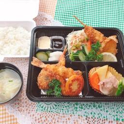 Assorted Fried Food Set meal (Yo-teishoku)