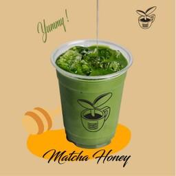 Iced Matcha Honey