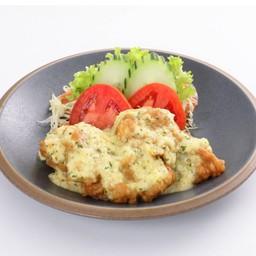 Chicken Namban ไก่ทอดราดซอสนัมบัง