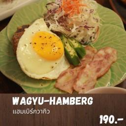Wagyu Hamberg set (แฮมเบิกเซ็ท)