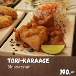 Tori karaage set (ไก่ทอดคาราเกะเซ็ท)