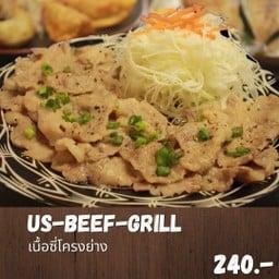 Us beef grill rib set (เซ็ทเนื้อย่างอเมริกัน)