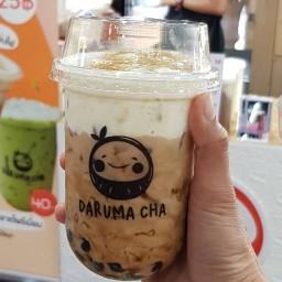 Daruma ข้าวหมูทอด+ชานมไข่มุก ทุ่งรี