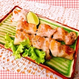 Buta Kushi (2P) เนื้อหมูเสียบไม้ย่าง เกลือ (2ไม้)