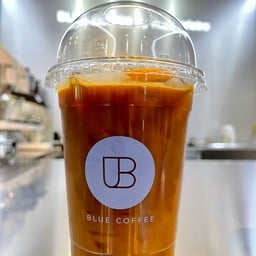 Blue Coffee By The Baristro